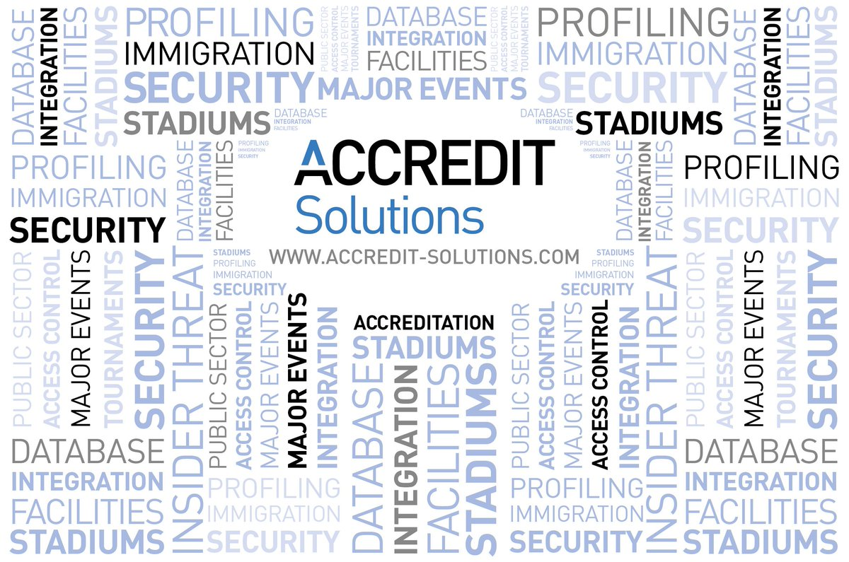 Accredit Solutions On Twitter Are You In Control Of Your Database Access And Security To Run Unlimited Events At Single Or Multiple Venues Sites For All Internal External Departments Using A Data Entry Point