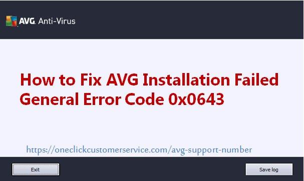 How to Fix #AVG Installation Failed General Error Code 0x0643? Read More:  http://www. techsite.io/p/715222  &nbsp;  <br>http://pic.twitter.com/BzW2Uhoav3