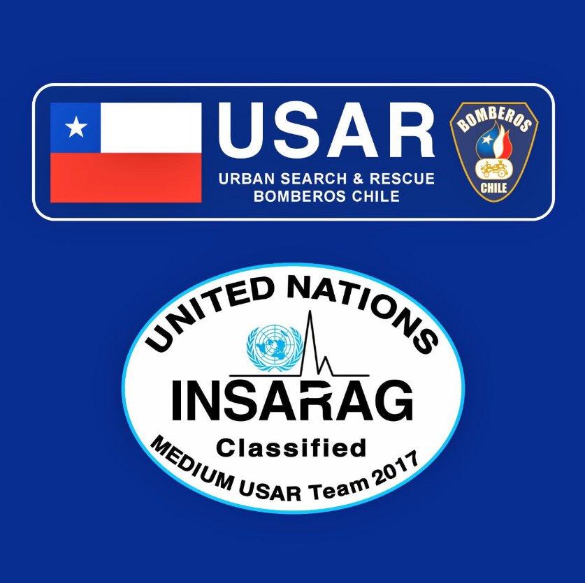 Chile es el primer país latinoamericano en contar con un grupo USAR clasificado ante Naciones Unidas