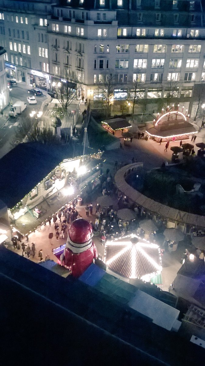 Job well done by our M&amp;E Engineer Paul Dunn. He ensures that there is a safe power supply to the #FrankfurtChristmasMarket Pics from last nights light switch on! #BehindTheScenes #SafetyFirst  <br>http://pic.twitter.com/hC3TrVz5Wi