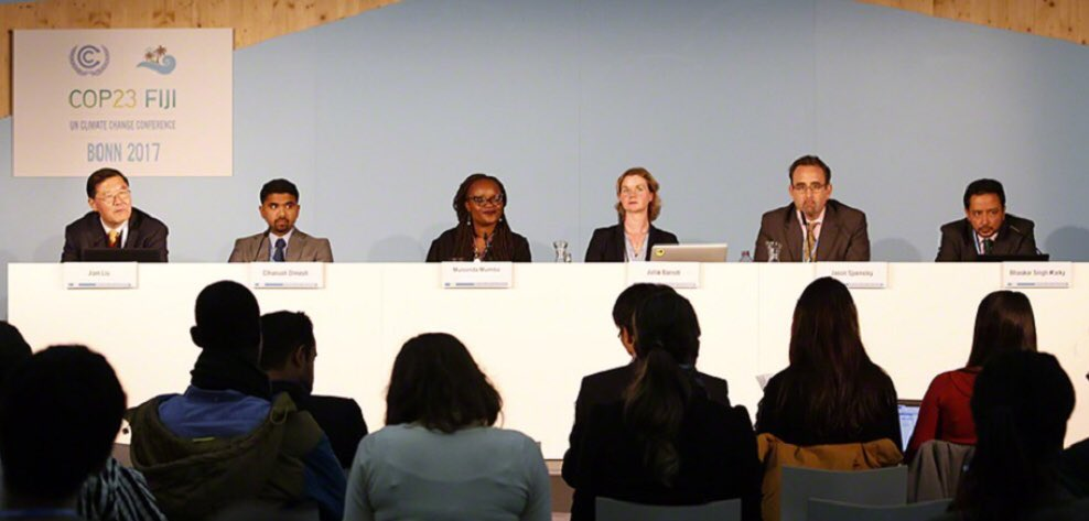 During our #LAKI event (Nov. 9) &amp; in recognition of the diverse knowledge users, the panel recommended the use of various tools &amp; communication channels, such as @weADAPT1 &amp; PROVIA, to promote equal #knowledge access.  #COP23  #adaptation #ClimateAction<br>http://pic.twitter.com/5tUa8eUdVP