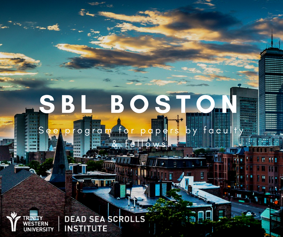 Don&#39;t miss papers on #DeadSeaScrolls, #BookofDaniel, #forgeries, and #syntax modules by Dr. Andrew Perrin @ab_perrin, Dr. Martin Abegg, and Dr. Kipp Davis @TrinityWestern at #SBLAAR17 in Boston.  https:// goo.gl/geQ8EE  &nbsp;   @museumofBible @AccordanceBible<br>http://pic.twitter.com/UA7oCEBZYe