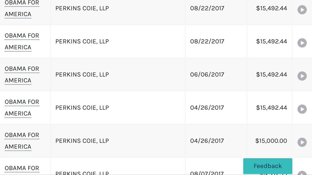 WHY is #ObamaForAmerica paying huge money to #PerkinsCoie every month $140k plus this quarter Funds being transferred from another Dem super PAC #followthemoney <br>http://pic.twitter.com/IXBo79m4aK