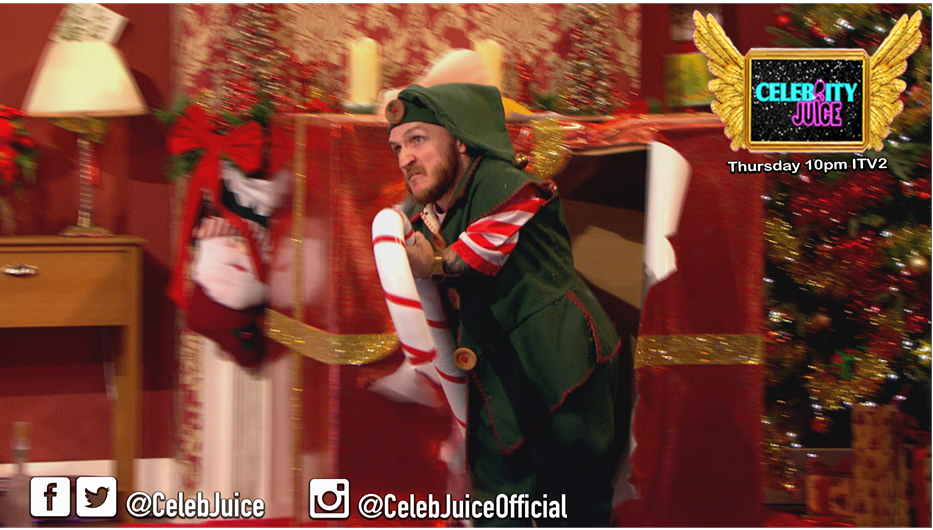 Be careful what you wish for! #KarltheElf #CelebJuice https://t.co/yMhilqUvLp