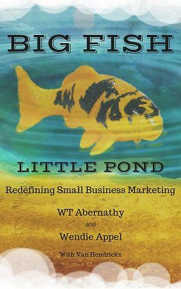 RT @WTAbernathy Free preview of Big Fish Little Pond: Redefining Small Business Marketing  https:// buff.ly/2ipaXeA  &nbsp;   #publicity #ebook  https:// buff.ly/2iqY1ol  &nbsp;  <br>http://pic.twitter.com/qIJYDON0pm