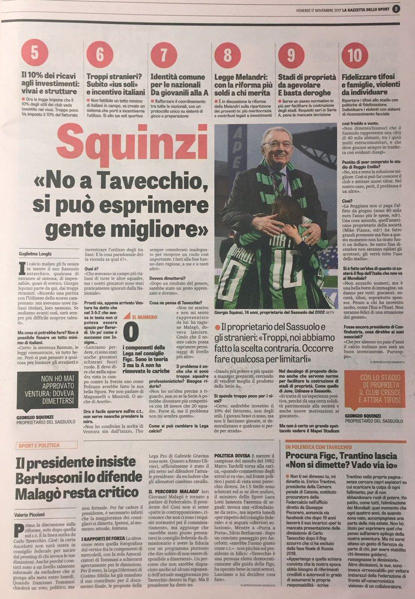 Proud! #Squinzi #Sassuolo #Sasol #ForzaSasol #Tavecchiodimettiti<br>http://pic.twitter.com/MCOhXa4E7Y