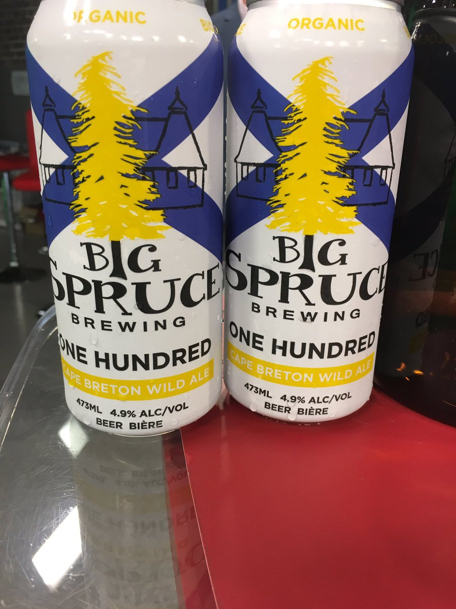 We told you it was a jam-packed show! We wrap up our busy Friday show w/ @BigSpruceBrew and get a taste of their  per cent #NS beer  <br>http://pic.twitter.com/BoGDt0fkFi