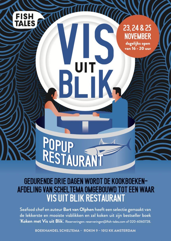Leuk idee. Vis uit blik restaurant @bartvanolphen @fishtalestweets https://t.co/qpRiuTs5tE