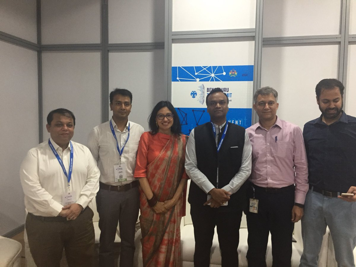 Look fwd to working w Govt of Karnataka for #automotive #safety #innovation for saving lives with @IntelIndia as tech advisor #BlrTechSummit. Thanks @PriyankKharge<br>http://pic.twitter.com/drMbKwBSuj