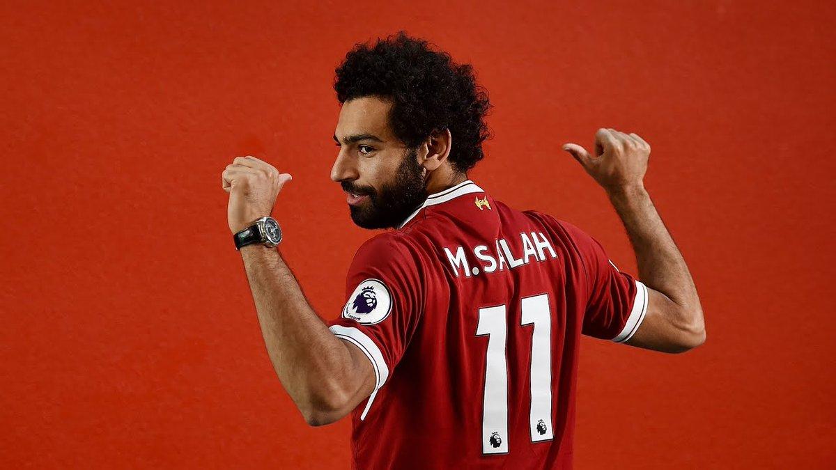 """Jurgen Klopp : """"Au moment de signer Mohamed Salah  j'étais content, je m'attendais a ce qu'il fasse un bon début, il aurait pu marquer encore plus c'est la vérité"""" #Liverpool pic.twitter.com/8XUG7GXmLX"""