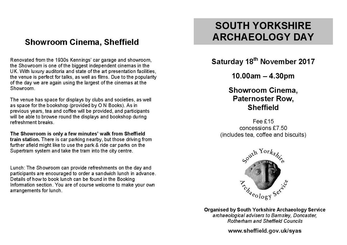 Looking forward to speaking at tomorrow&#39;s South Yorkshire #Archaeology Day about our recent work at Ardsley, #Barnsley @SheffCouncil @WA_north @WA_AndyN @wessexarch @Freeborn_Phil #sheffieldissuper #barnsleyisbrill #heritage #buildingrecording #architecture #builtheritage <br>http://pic.twitter.com/bEDlhYH7at