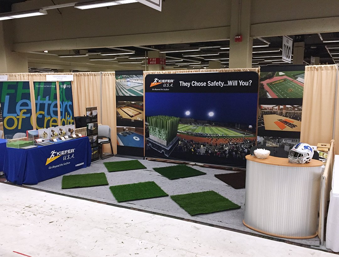 Stop By Kiefer USAu0027s Booth #1205/1207 To Learn About Our SAFE Sports  Flooring Surfaces! #ILjac17 #mondoturf #gobeyondthesurface ...
