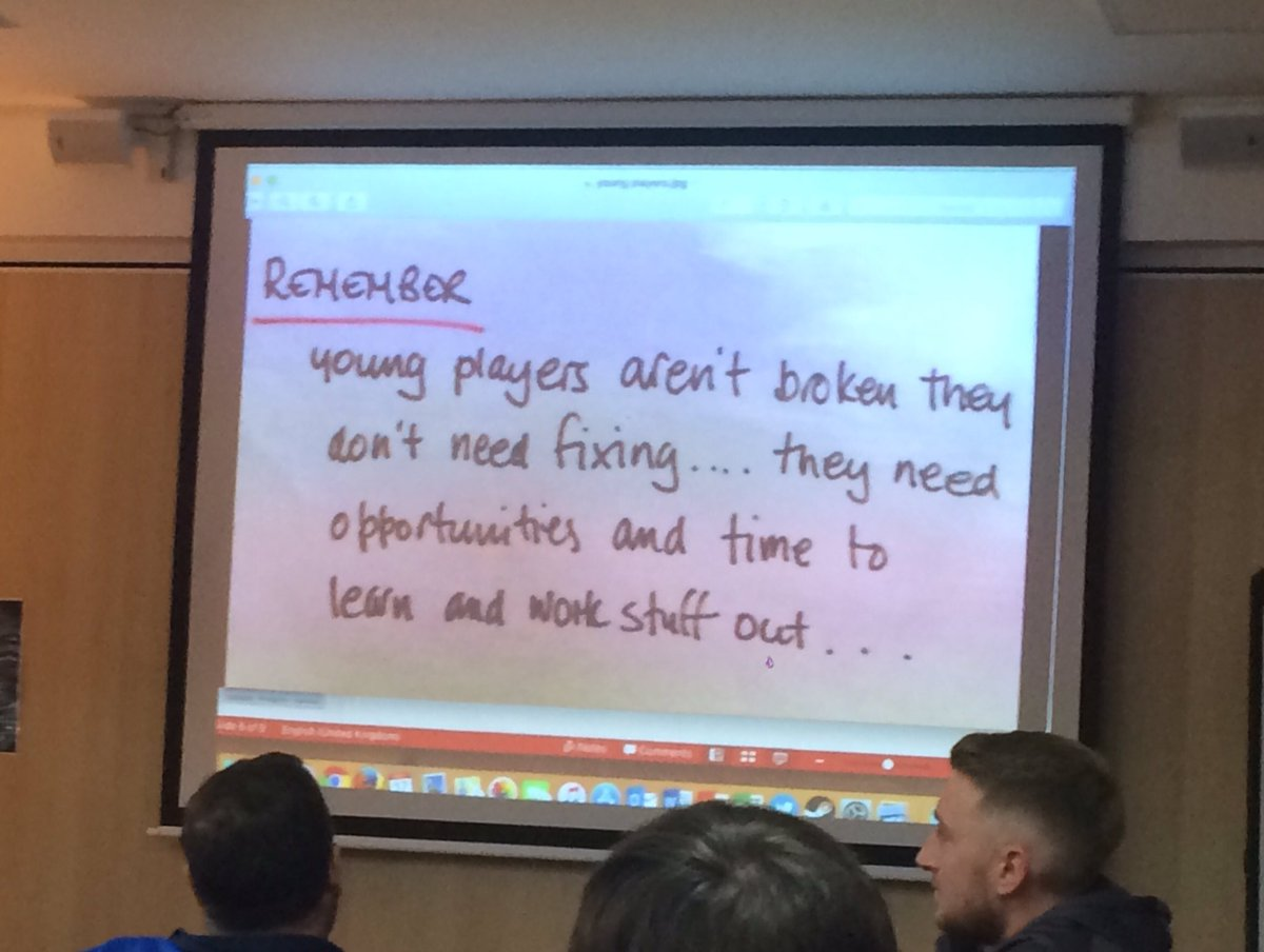 Love this @WestRidingFA @coachbenh @ChippyLC #mistakes #learning<br>http://pic.twitter.com/Fed8sa22mI