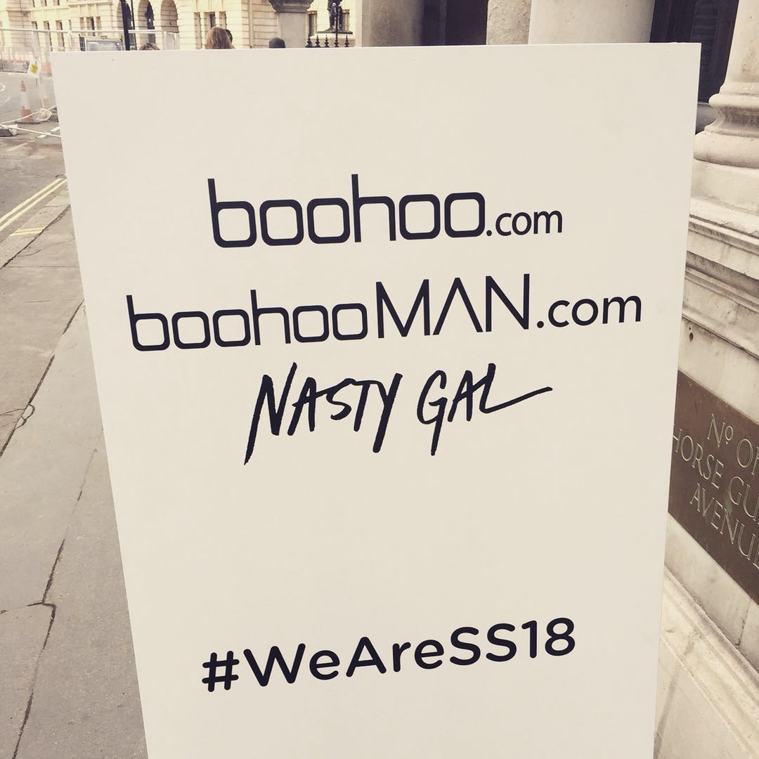 FGRT&#39;s London team attended @boohoo&#39;s Spring/Summer &#39;18 Press Preview, featuring ranges from #Boohoo womenswear, #BoohooMAN and #NastyGal. Check out our store tour gallery on facebook:  http:// bit.ly/2AOTkf7  &nbsp;   #WeAreSS18<br>http://pic.twitter.com/pVBnGICJ3S