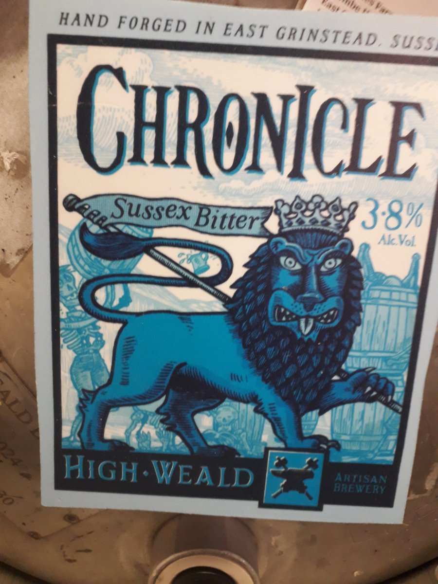 Great to have ale from @highwealdbrewer on stillage again, Andy has always been a great supporter of the #OA <br>http://pic.twitter.com/Elgb2MXA6k