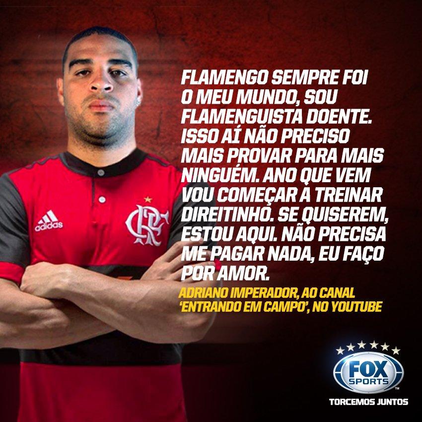 Didico quer voltar ao @Flamengo!