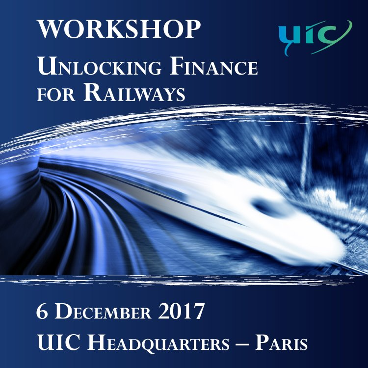 [Rail Event] Unlocking #Finance for #railways - capacity building for #sustainable #PPP @WorldBank @CER_railways @VIA_Rail @AAR_FreightRail @SNCFReseau @RailMinIndia @ONCFgroup  http:// bit.ly/2zamVmP  &nbsp;  <br>http://pic.twitter.com/i6urNRR0rc