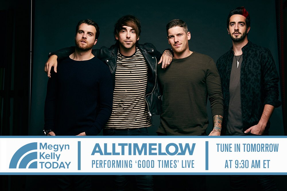Tune in now to @MegynToday on @NBC to catch us perform 'Good Times'! https://t.co/r4pBMZGi8q