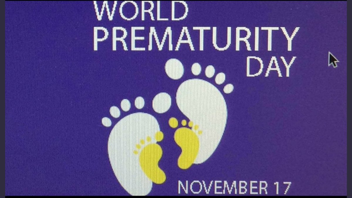Today is world prematurity day..... #babies #neonatal #WorldPrematurityDay<br>http://pic.twitter.com/WKNaNjnAEZ