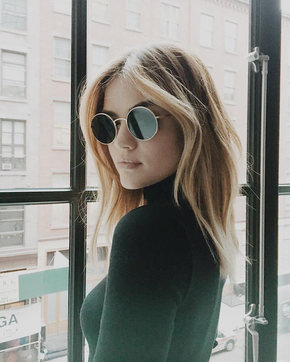 Lucy Hale On Twitter Friday Flashback To A Blonde Me Brainstorming What My Next Hair Change Will Be