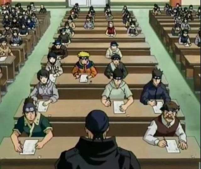"""Omni ☕️ on Twitter: """"name an anime episode greater than the naruto chunin exam where everyone is cheating I'll wait… """""""