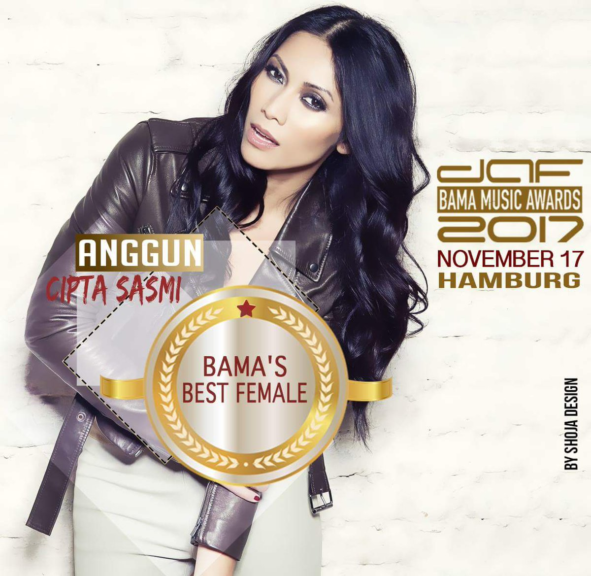 so proud of you mba @Anggun_Cipta congrats for @dafentcom BAMA&#39;s best female awards winner.. #BAMA2017 #Germany<br>http://pic.twitter.com/RYVzTy0mzF