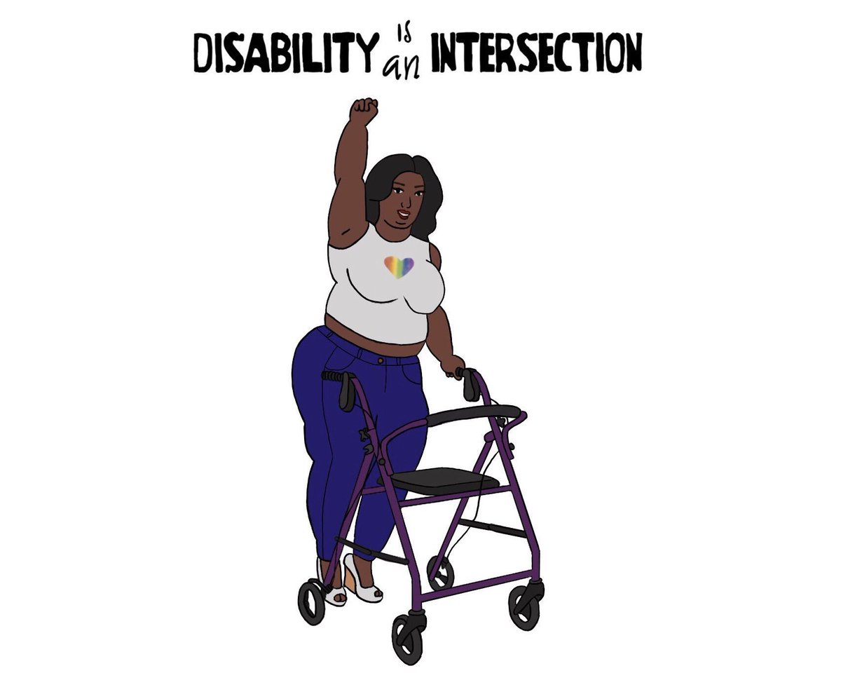 #Inclusion #FF: Follow @HijaDe2Madre to support fantastic intersectional art on #Disabled #WomenOfColor <br>http://pic.twitter.com/tN66fpakJN