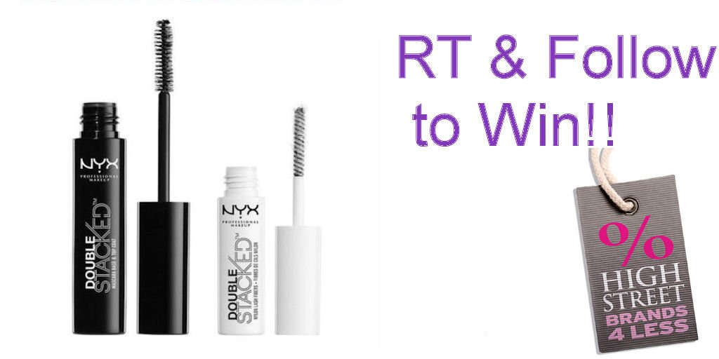 #win a #NYX Double Stacked #Mascara in our #competition. RT &amp; Follow @HighStreetBrand to enter.  #FreebieFriday #winit #makeup #beauty #free #giveaway   http://www. highstreetbrands4less.com  &nbsp;  <br>http://pic.twitter.com/iDlaXoSNJk