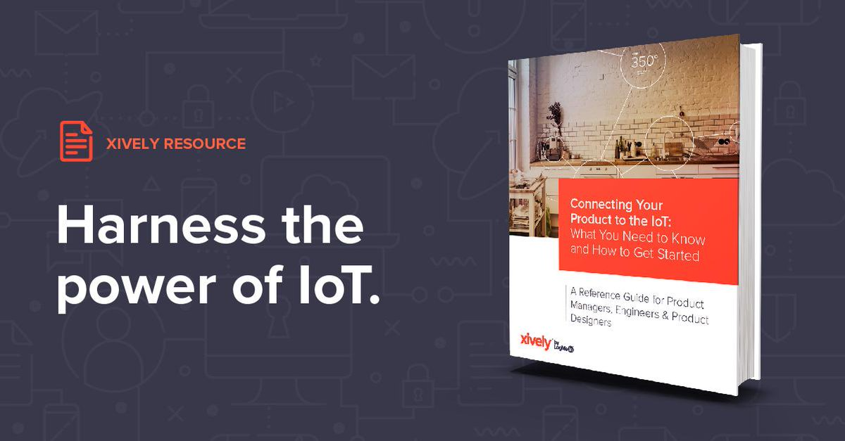 #IoT can impact every industry. But how do you connect a product? Download our whitepaper to get started. https://t.co/2WMvOc3NN0 https://t.co/Li7G7Ahx9Z