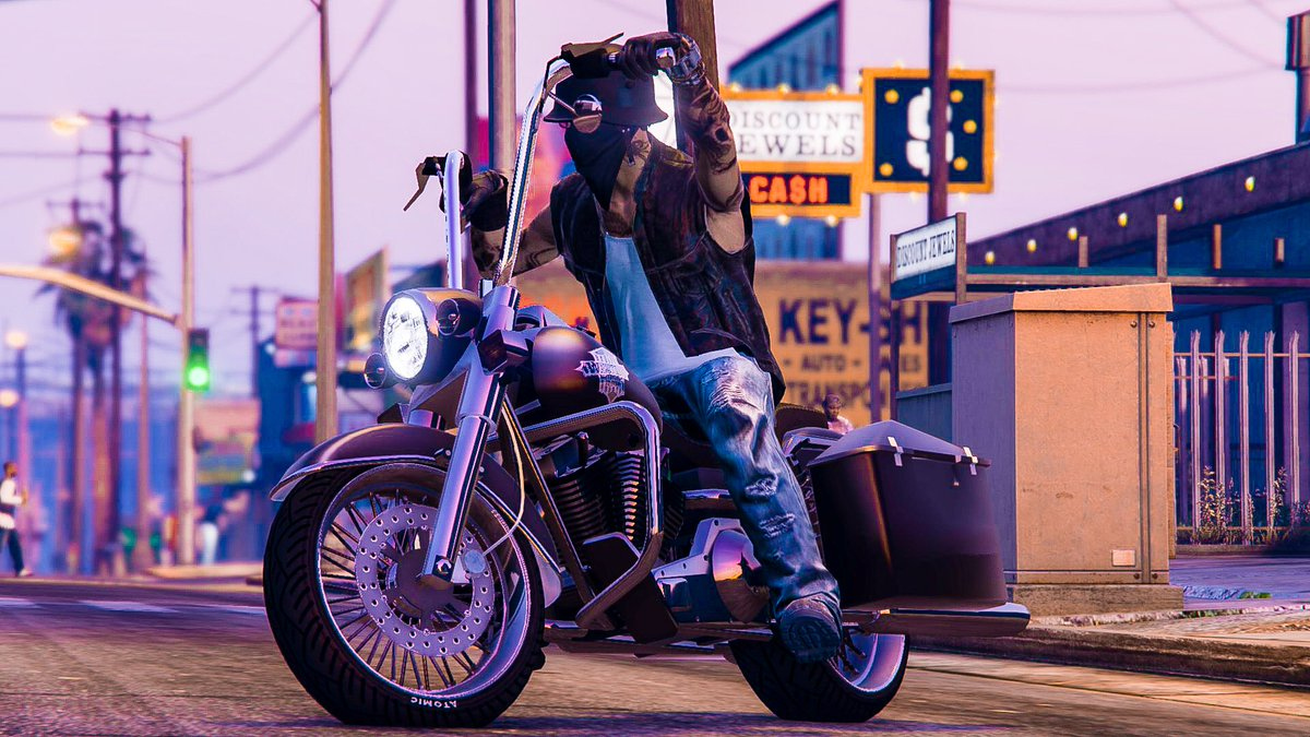 Purple Haze! #GTA #RockstarEditor #LaRaza #Snapmatic<br>http://pic.twitter.com/j6V7EgdWTY