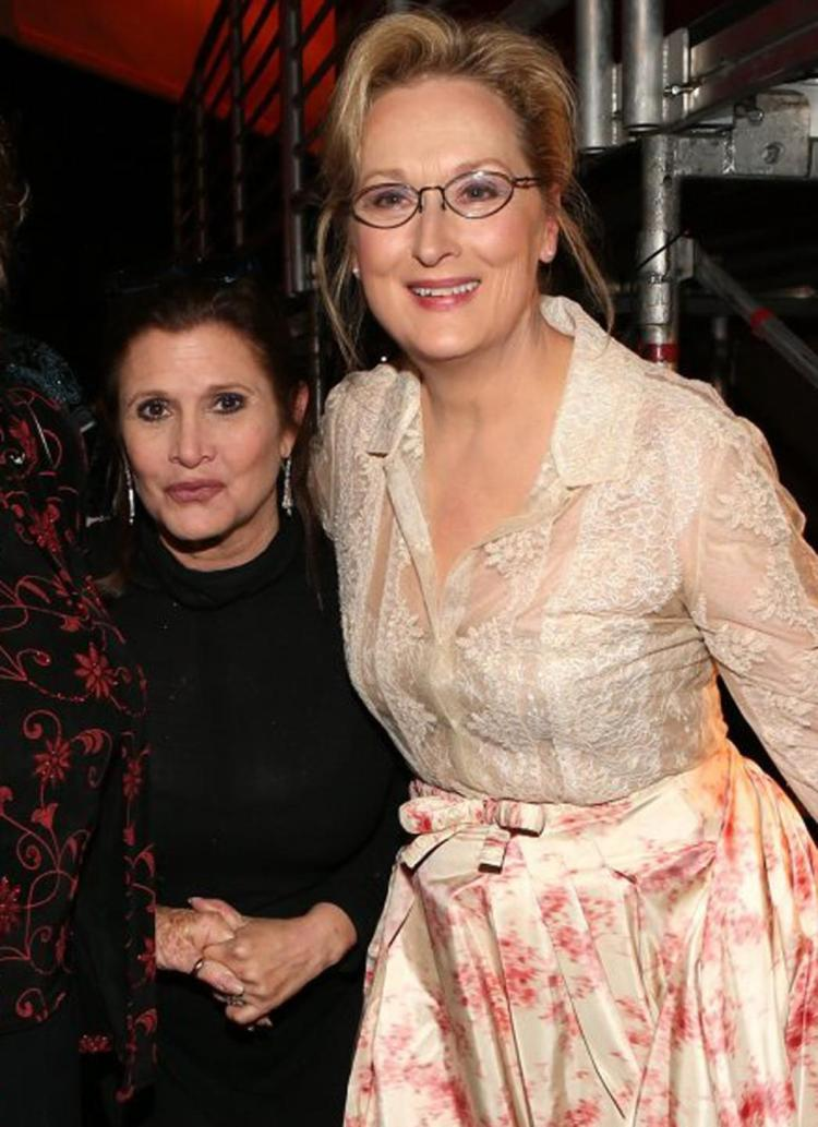 My babies, ladies and angels. My everything.  My inspiration.  My love.  #MerylStreep #CarrieFisher<br>http://pic.twitter.com/ndKGaqNbXK