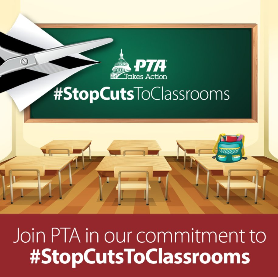 Investments in Defense &amp; NDD programs like ED are essential to US security &amp; prosperity. Congress must #RaisetheCaps &amp; #STOPCutsToClassrooms.  Help spread the word by going to  http:// PTA.org/STOPCuts  &nbsp;  .<br>http://pic.twitter.com/K0qp5hcXao