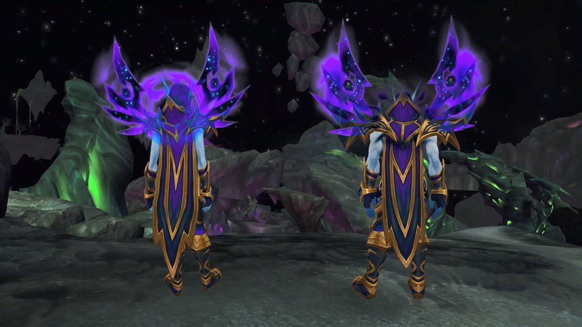 Riot Kaeyi Pa Twitter I Have Had A Realisation I M Gonna Want The Void Elf Heritage Armor Which Means Levelling A Void Elf Fully From Level 20 To 120 And I Ll Throughout your journeys across azeroth, you have achie. void elf heritage armor