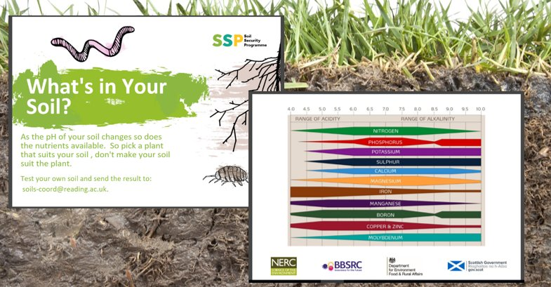 Become a #soil scientist this weekend with @Soil_Security @NERCscience #UnEarthed2017 @ourdynamicearth.  Entry is free all day Saturday and Sunday (17th and 18th).<br>http://pic.twitter.com/lJ7SqGjGDv