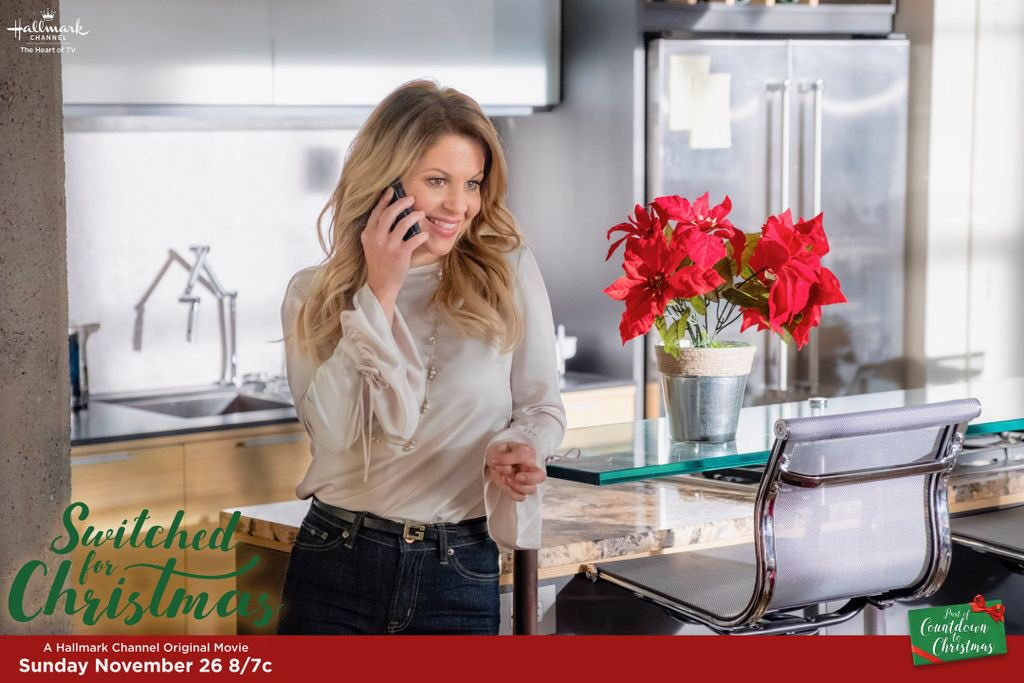 candace cameron bure on twitter who will be watching switched for christmas on november 26th tunein hallmarkchannel christmasmovie - Candace Cameron Christmas Movies