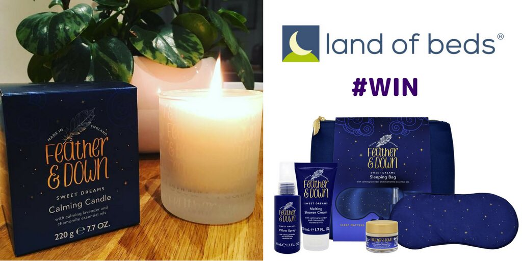 #WIN a Feather &amp; Down luxury sleep bundle (worth £30+), perfect for bedtime relaxation! RT &amp; follow both @LandofBeds and @featheranddown by midnight on 27 Nov to enter #competition <br>http://pic.twitter.com/isdeZ7rd8R