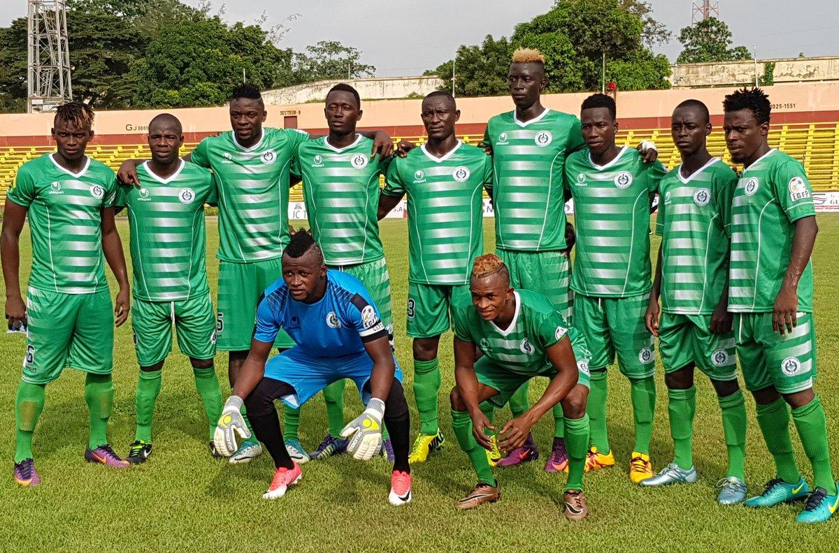 La photo du onze entrant du Hafia FC pour le match de la 3e journée de la ligue 1 Pro