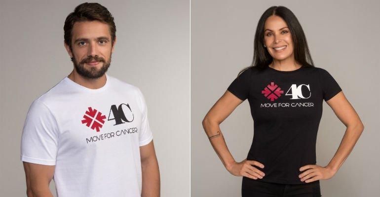 Rafael Cardoso e Carolina Ferraz apoiam campanha contra o câncer -> https://t.co/bmDQVMsboI