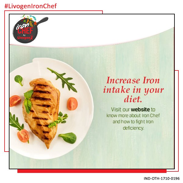 Livogen india on twitter increasing your iron intake in your diet send your iron rich recipe and get a chance to be featured in femina visit httpbitironcheft10 to participate forumfinder Choice Image