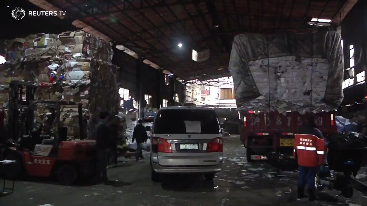 China braces for trash catastrophe after Singles' Day. See more with @ReutersTV https://t.co/q1TUJXZjMI https://t.co/JguIBvBik3