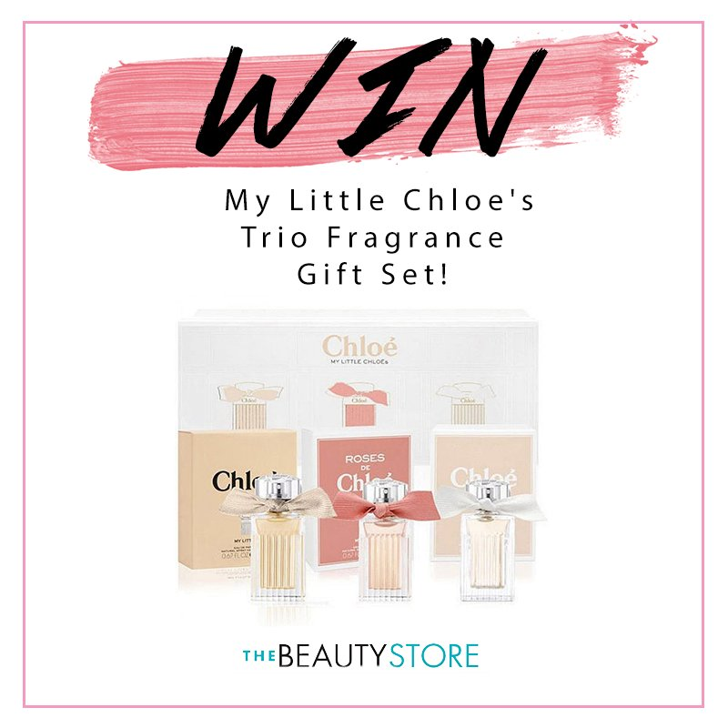 #COMPETITION TIME! #WIN a Chloe Gift Set! #RT + #FOLLOW us to enter! Extra entries here:  http:// bit.ly/2zcDX2U  &nbsp;   Good Luck! Xx<br>http://pic.twitter.com/sTFDRYQI5D