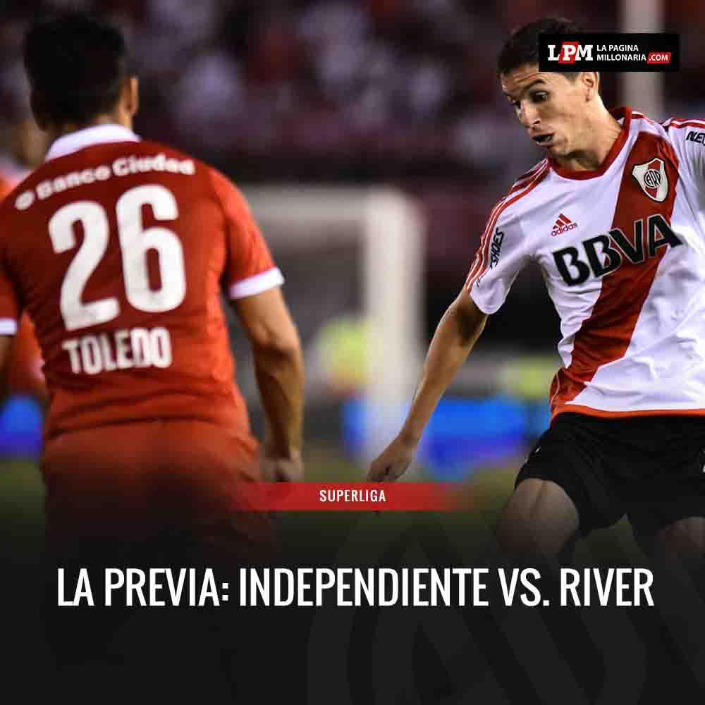 El historial y todas las estadísticas de #RiverPlate ante Independiente: https://t.co/nGR7GE9sUb https://t.co/cHenpdlhMS