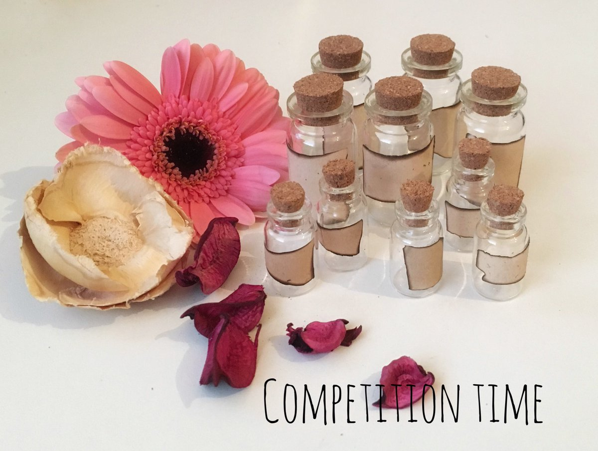 #Competition time!! For your chance to win 10 #potionbottles just follow and retweet!! Winner will be announced at sundown on Sunday!!  (prize in picture)<br>http://pic.twitter.com/sqwZyfxOxa