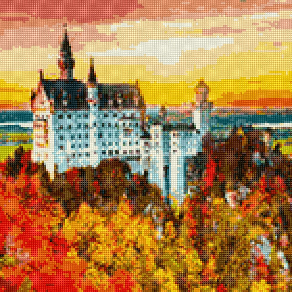 #institch OMG! It's time to cross-stitching on your phone!やっ