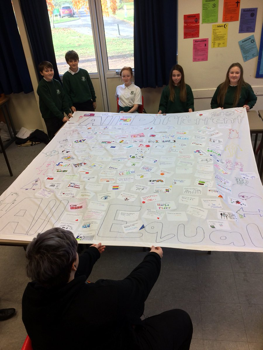 The results of our fantastic #equality team's #AntiBullyingWeek activities @ChewValleySch #AllDifferentAllEqual<br>http://pic.twitter.com/kytJzbLlwK