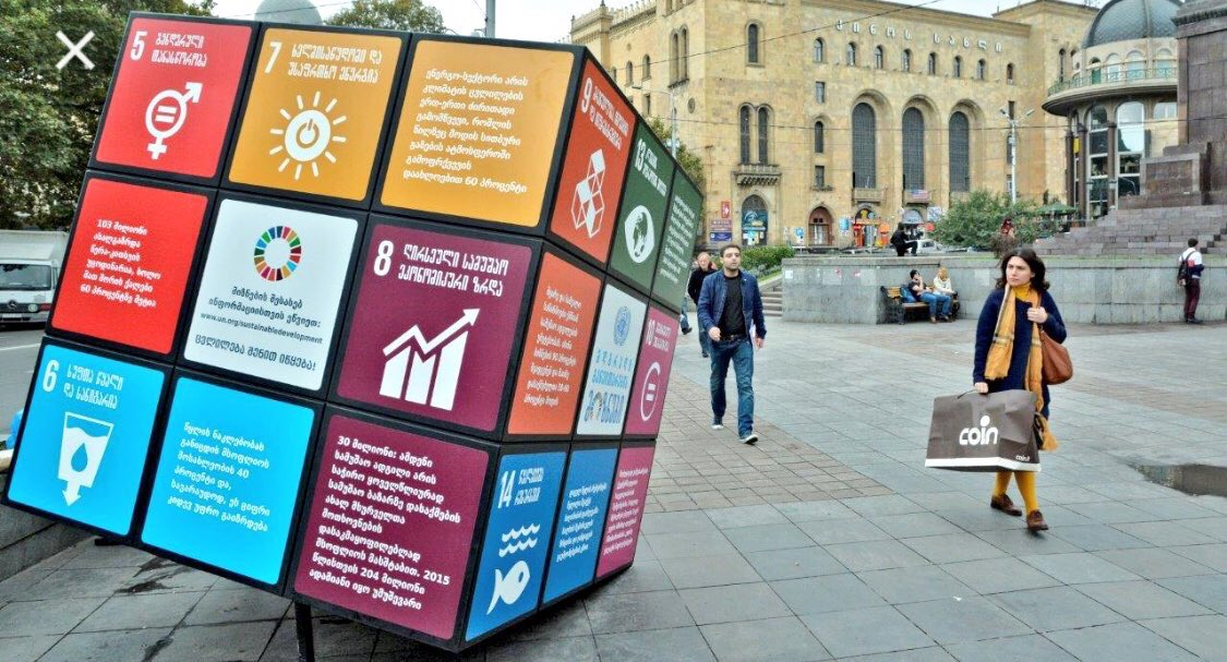 Think Global, Act Local! #SDGs  1 #NoPoverty 2 #NoHunger 3 #Health 4 #Education 5 #GenderEquality 6 #Water&amp; sanitation 7 #CleanEnergy 8 #Economies 9 #Innovation 10 #Inequality 11 #Cities 12 #Consumption 13 #Climate 14 #Ocean 15 #Biodiversity 16 #Peace 17 #Partnership #GlobalGoals<br>http://pic.twitter.com/RkqgCWmR5s