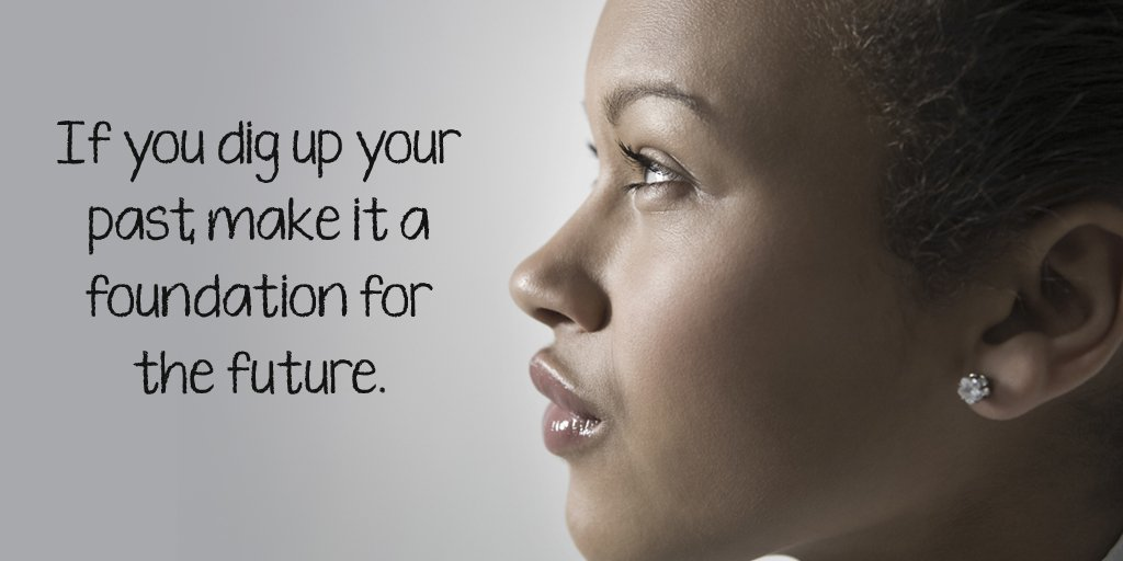 If you dig up your past, make it a foundation for the future. #quote <br>http://pic.twitter.com/6hO8OqQKoD