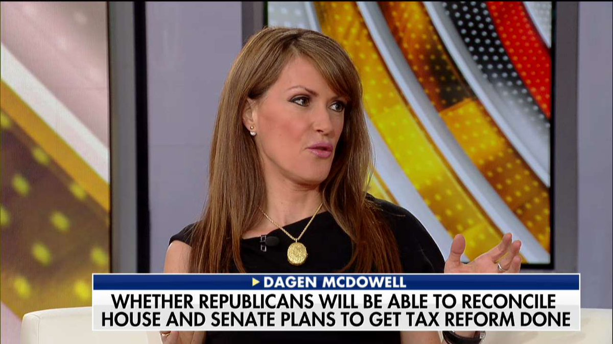 .@dagenmcdowell: 'This is a tax cut for businesses that create the jobs in this country.' #Outnumbered