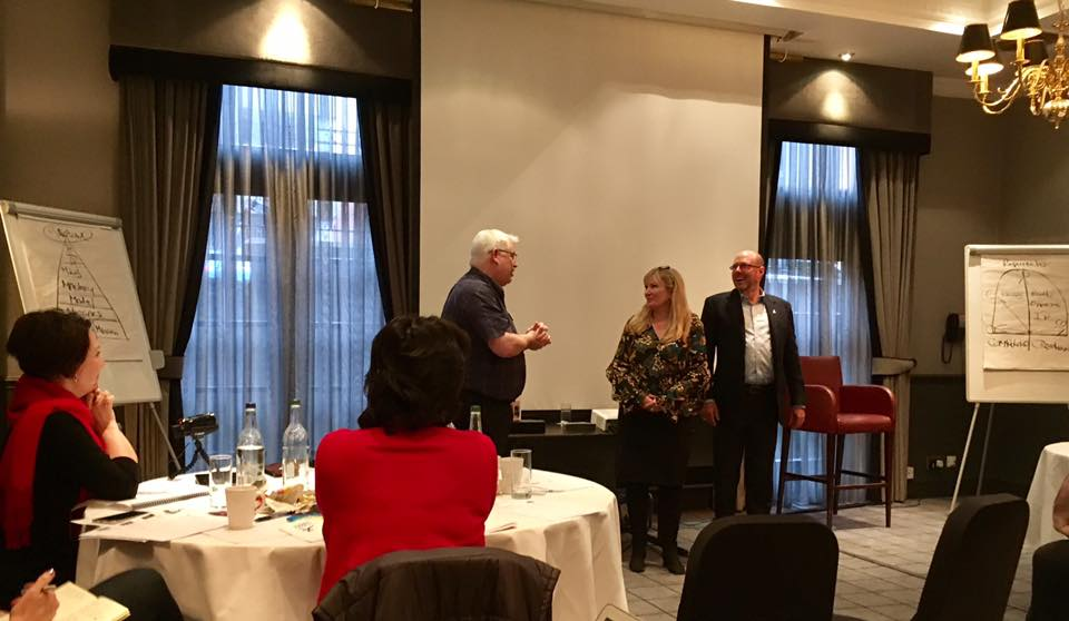 Thanks to #PSAScotland&#39;s fantastic guest speakers @SteveLowell &amp; @JayneBlumnthal for amazing advice for #Speakers, #Trainers &amp; #Coaches<br>http://pic.twitter.com/brKMautQ1X