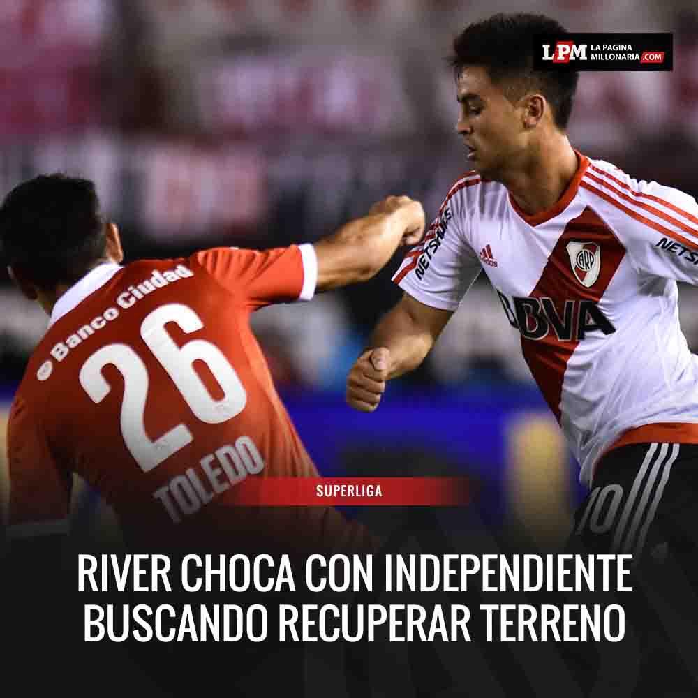 Las formaciones y todo lo que tenés que saber de Independiente vs. #RiverPlate: https://t.co/68NAewWr4G https://t.co/SRaZXGXGV5